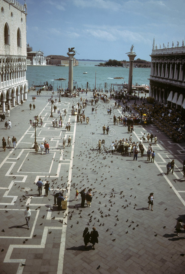 Piazzetta, San Marco stock foto