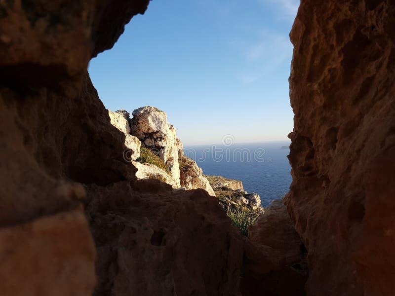 Pic сделанный в Мальте стоковые фотографии rf