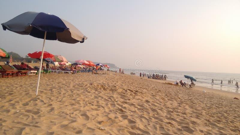 PIC de plage image stock