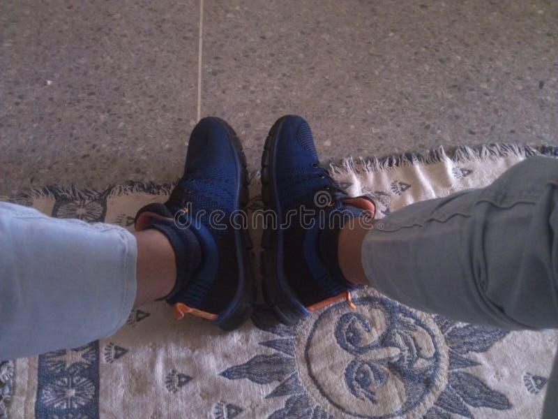 Pic mój buty zdjęcie royalty free