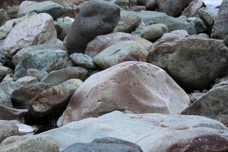 Pic semplice delle rocce fotografia stock