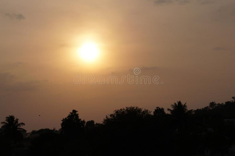 Sun set Nature pic super stock images