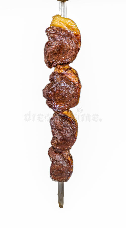 Picanha, traditional Brazilian barbecue. Brazil royalty free stock photo