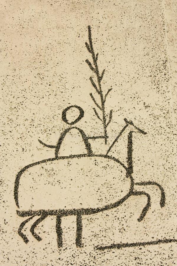 Picasso. Festivais populares, detalhe foto de stock