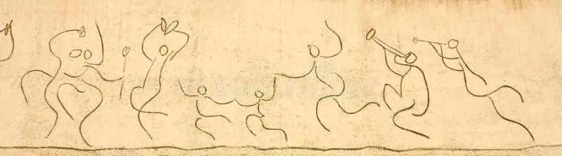 Picasso. Frise d'enfants photographie stock