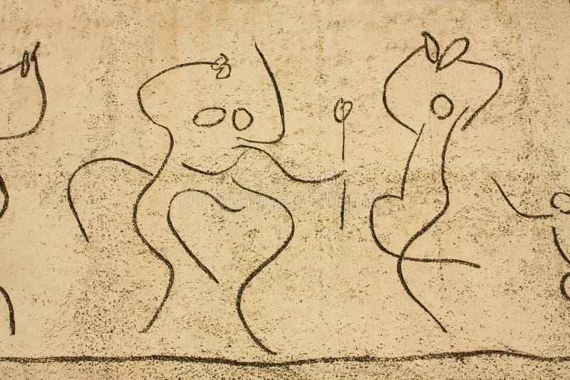 Picasso. Frise d'enfants. groupe de danseurs photos stock