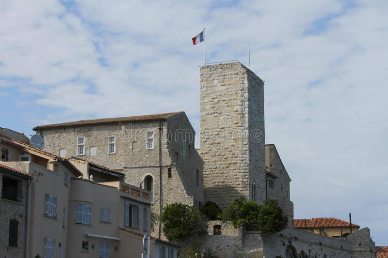 Picasso Museum Antibes, France stock images