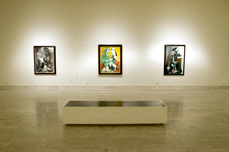 Picasso Museum of Barcelona royalty free stock image