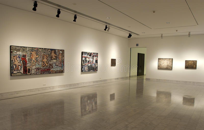 Picasso Museum of Barcelona stock image