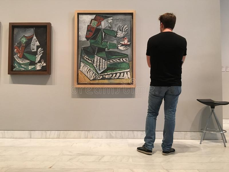 Picasso Paintings stock image