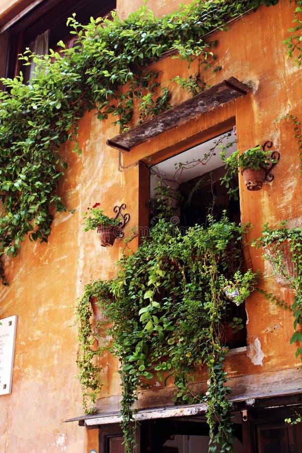 Picasso ` s okno w Rzym fotografia stock