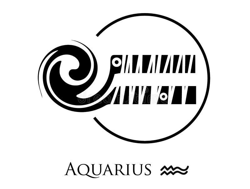 picasso tecken utformade zodiac stock illustrationer
