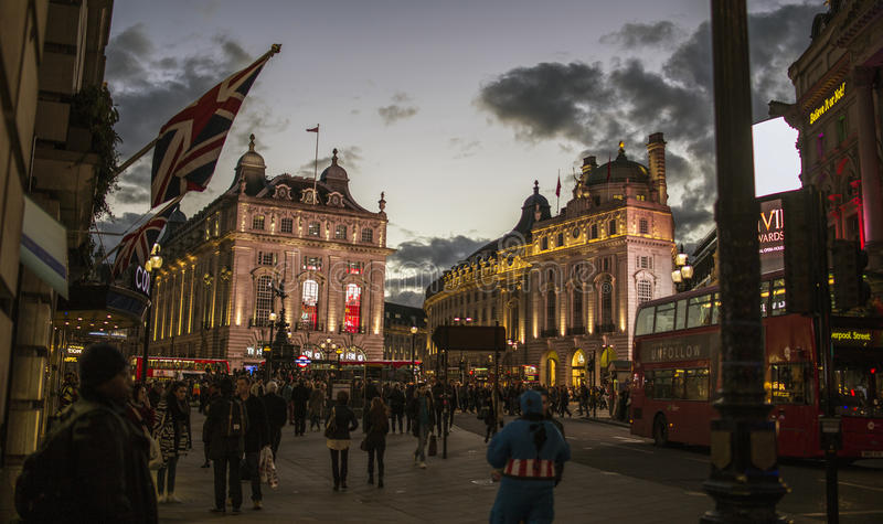 Piccadilly circus royalty free stock photos