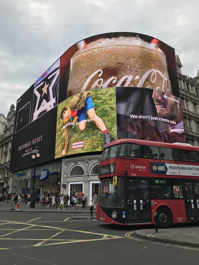 piccadilly cyrkowy London zdjęcie stock