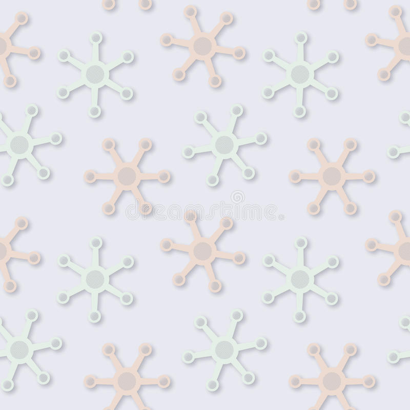 Picchiettio pallido fantastico senza cuciture astratto di colori di vettore illustrazione vettoriale