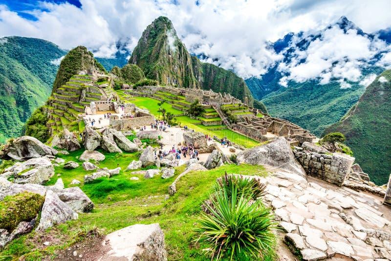 PICCHU DE MACHU, CUSCO, PERU imagem de stock royalty free