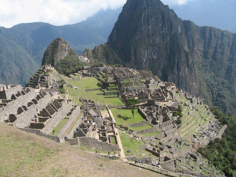 Picchu van Machu royalty-vrije stock afbeeldingen