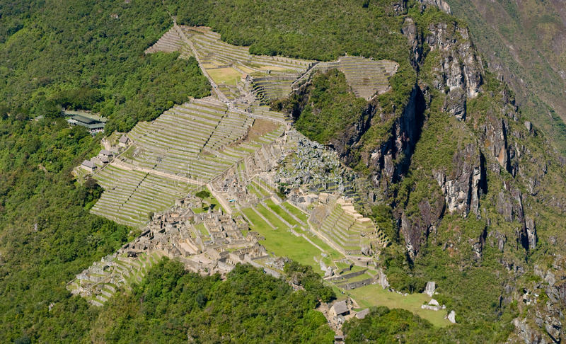 Picchu van Machu stock foto