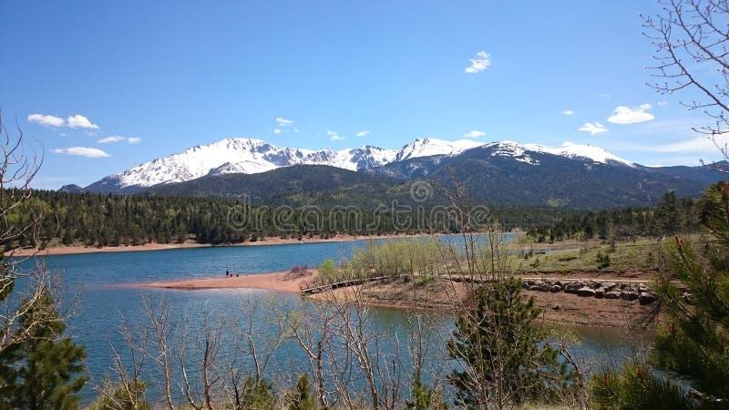 Picco dei lucci di Colorado immagini stock libere da diritti