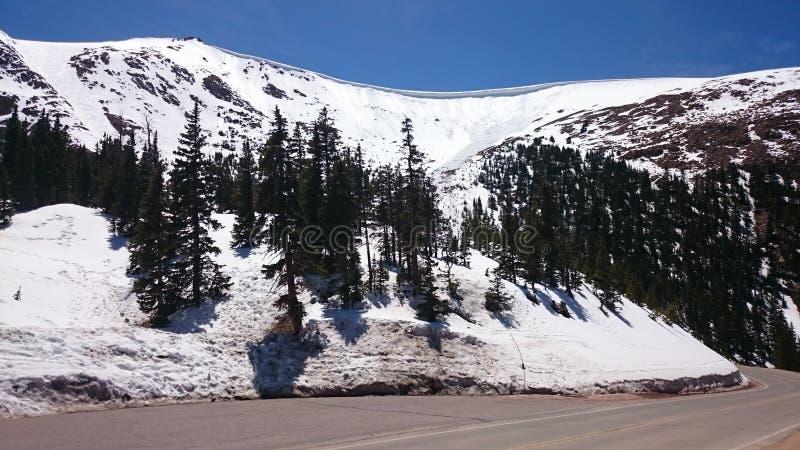 Picco dei lucci di Colorado immagini stock