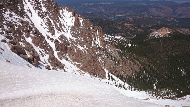Picco dei lucci di Colorado fotografie stock libere da diritti
