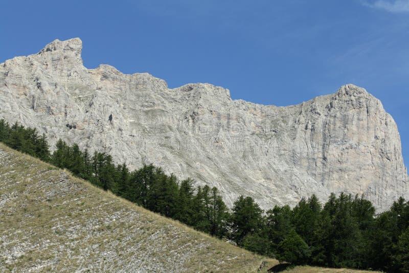 Picco del bure in alpi fotografia stock libera da diritti