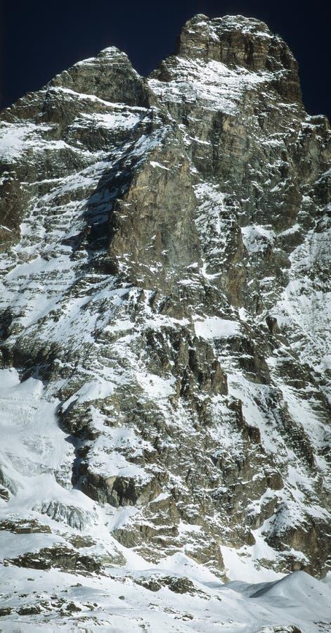 Picco Del Matterhorn Immagine Stock Libera da Diritti