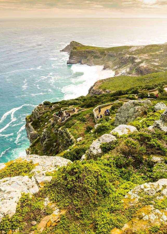 Picco del punto del capo nel Sudafrica fotografia stock libera da diritti