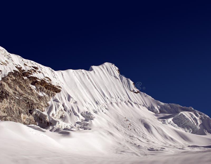 Picco dell'isola - Nepal fotografie stock libere da diritti
