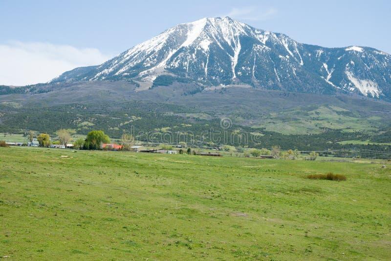 Picco di montagna immagini stock libere da diritti