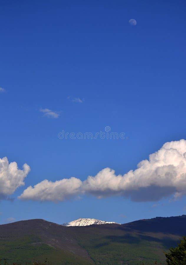Picco di Pelister sulla montagna del babza fotografie stock libere da diritti
