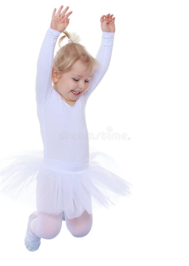 Piccola ballerina affascinante fotografia stock libera da diritti
