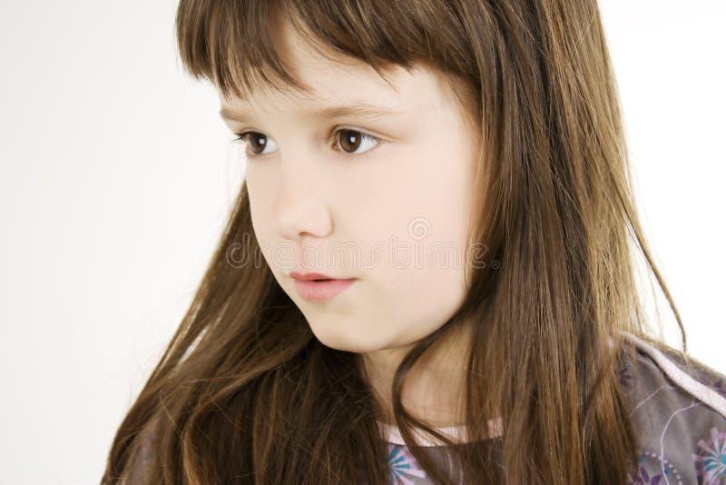 Piccola bella ragazza fotografie stock libere da diritti