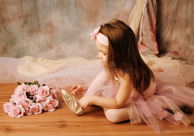 Piccola bellezza della ballerina fotografie stock libere da diritti