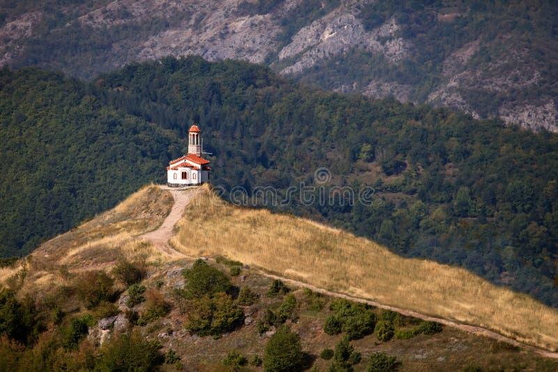 Piccola chiesa del ortodox fotografia stock libera da diritti