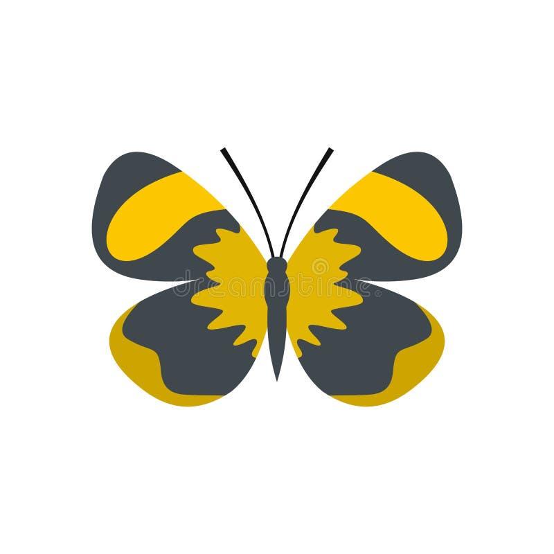 Piccola icona della farfalla, stile piano royalty illustrazione gratis