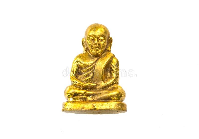 Piccola immagine di Buddha usata come amuleti fotografia stock
