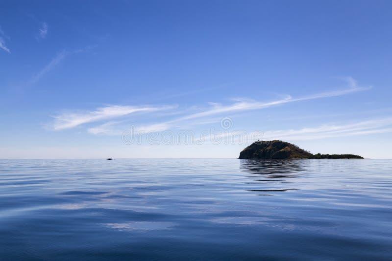 Piccola isola minuscola immagine stock