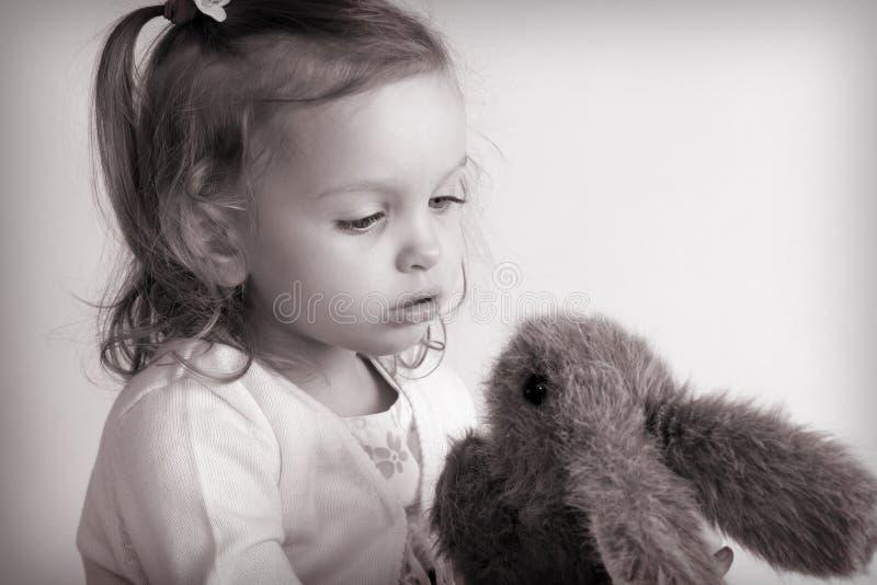 Piccola neonata fotografia stock