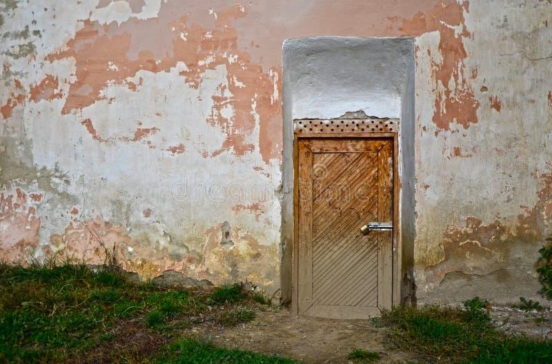 Piccola porta medievale fotografia stock libera da diritti