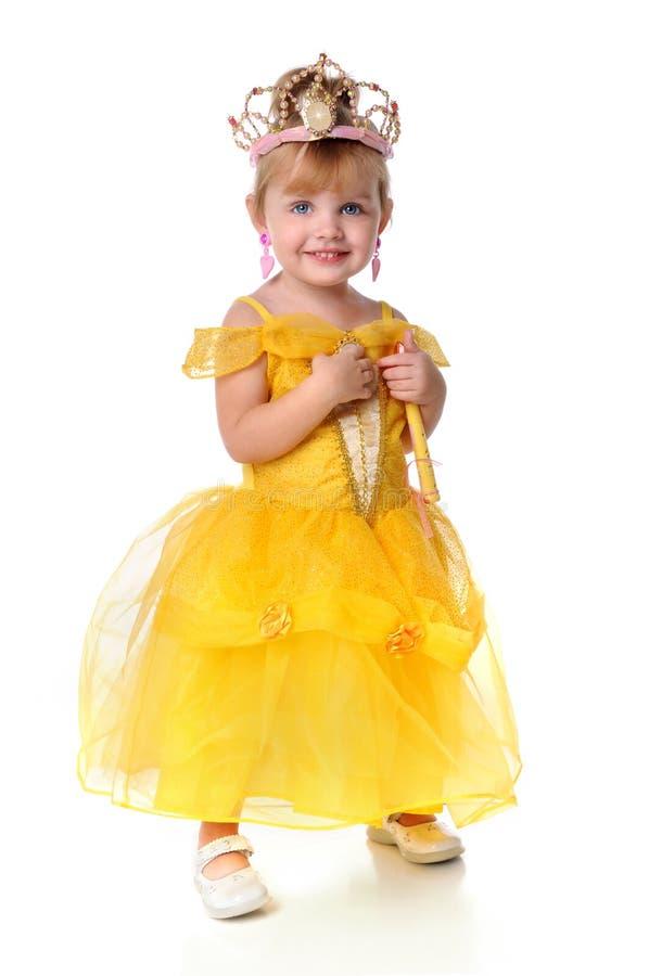 Piccola principessa fotografie stock libere da diritti