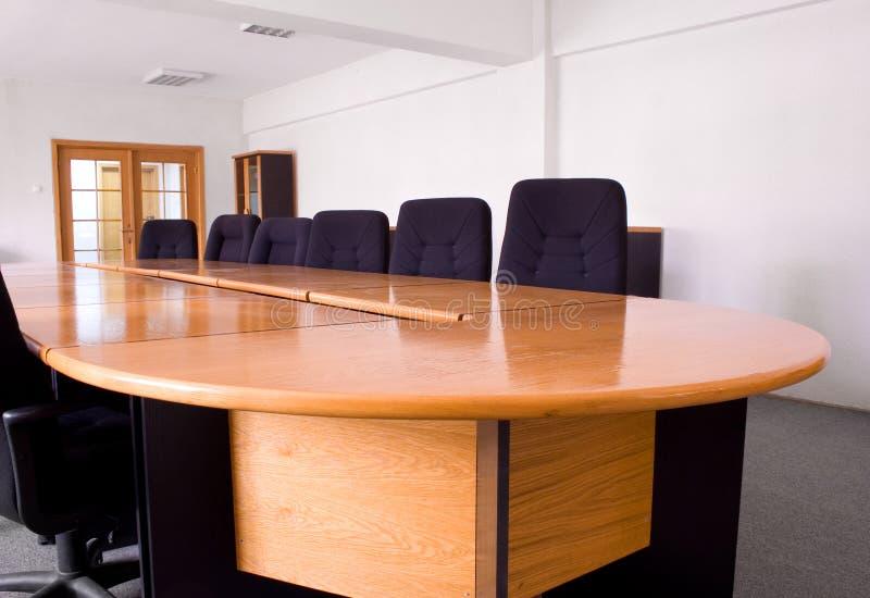 Piccola sala riunioni corporativa fotografie stock