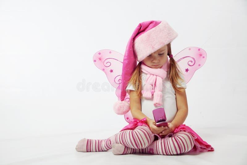 Piccola Santa adorabile fotografie stock
