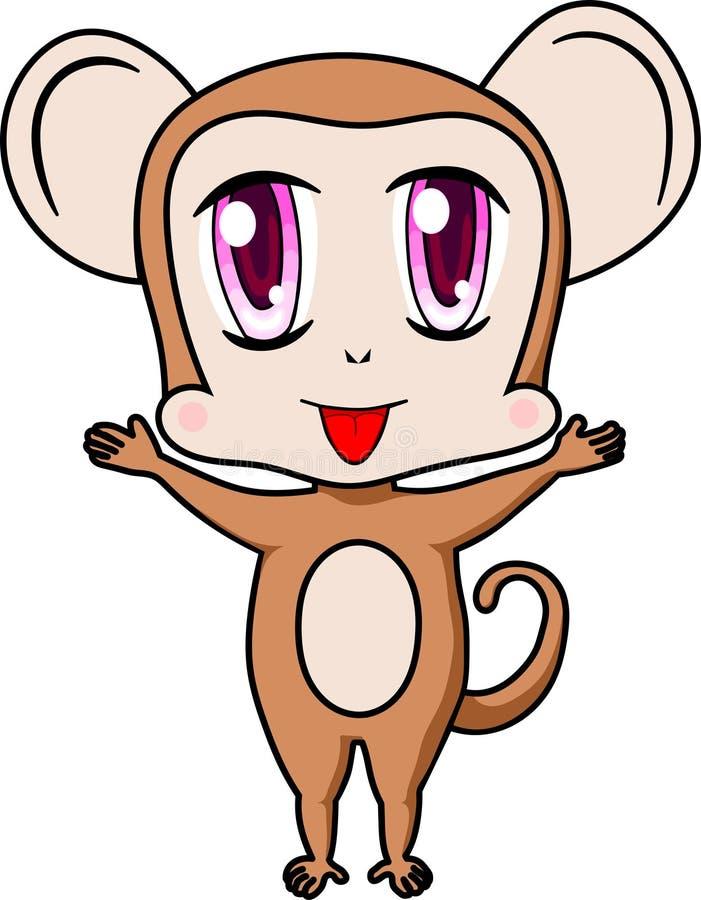 Piccola scimmia fotografie stock libere da diritti