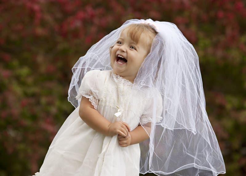 Piccola sposa fotografie stock libere da diritti