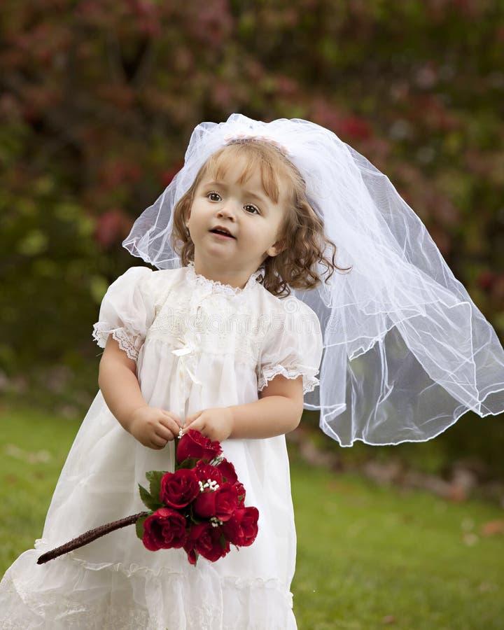 Piccola sposa fotografia stock