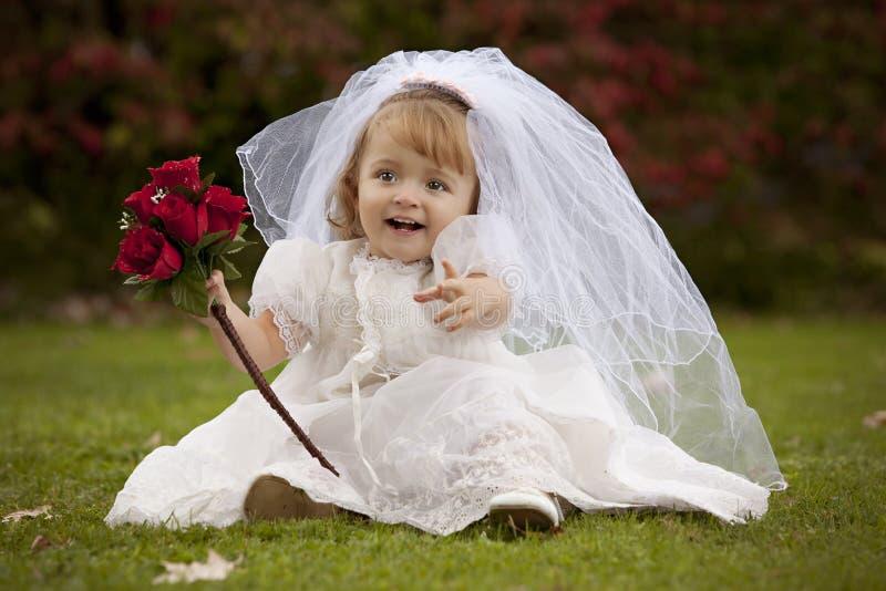 Piccola sposa immagine stock libera da diritti