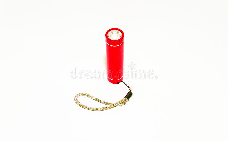 Piccola torcia elettrica fotografia stock libera da diritti