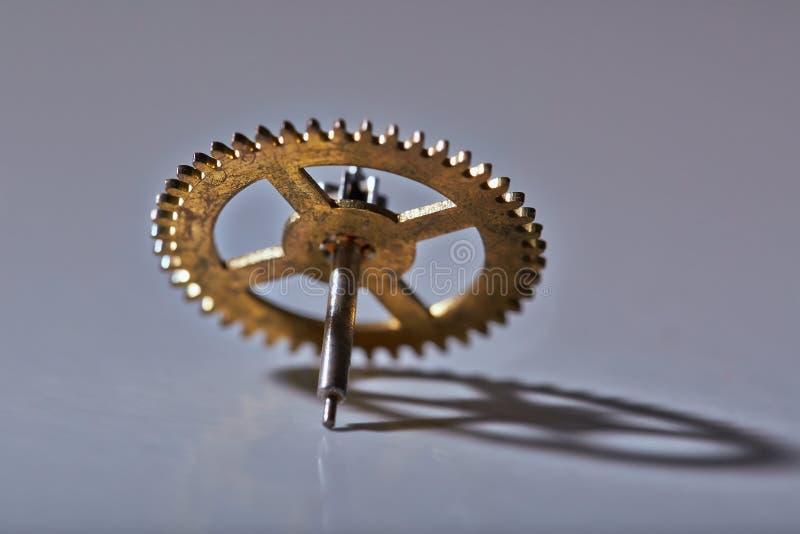 Piccola vecchia ruota dentata fotografie stock libere da diritti