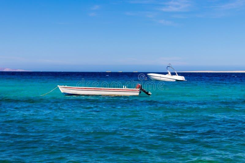 Piccole barche, battelli da diporto, barche del pesce fotografia stock libera da diritti